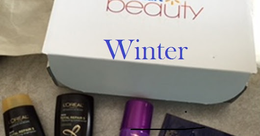 Winter & Spring 2016 Walmart Beauty Box Unboxing