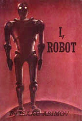 Book cover for Isaac Asimov's I, Robot in the South Manchester, Chorlton, and Didsbury book group