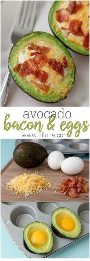 Avocado Bacon And Eggs Recipe