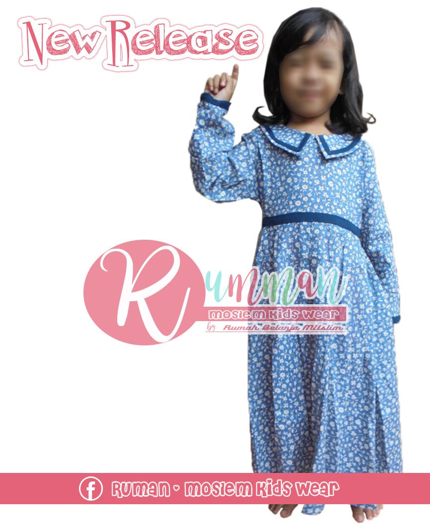 Gamis Anak Katun Rumman Moslem Kids Wear