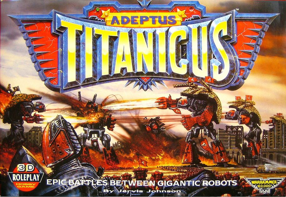 Analogue Hobbies: Keeping it Real: 'Adeptus Titanicus': An Opinion