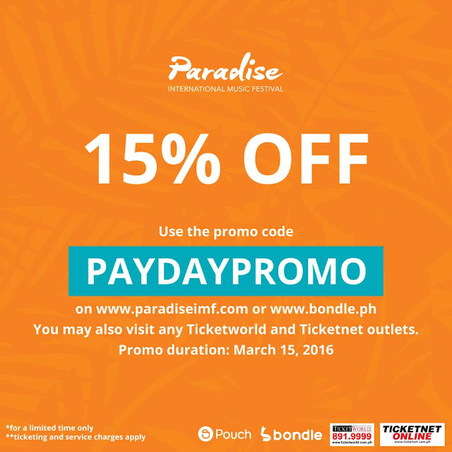 Paradise International Music Festival Promo Code