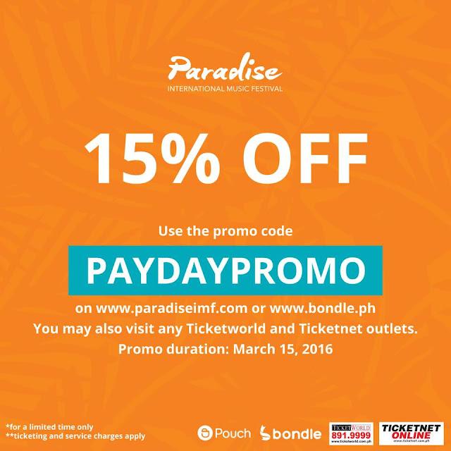 Paradise International Music Festival Promo Code