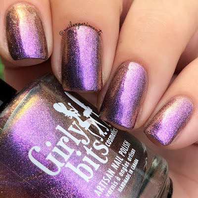 girly bits cosmetics the day shift september 2018 colour of the month cotm