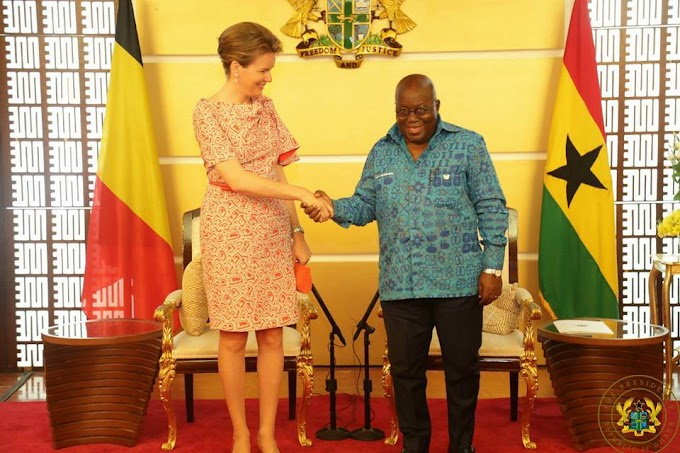 Ghana Playing a Lead Role in the Development Efforts of Africa - Belgian Queen Mathilde Observes
