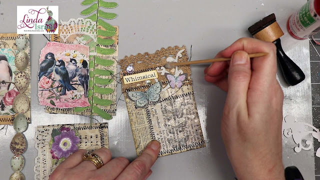 Collaged Journal Cards Made Easy with ScraPerfect