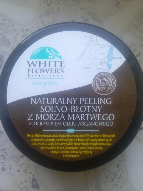 White Flower's - naturalny peeling solno-błotny z Morza Martwego.
