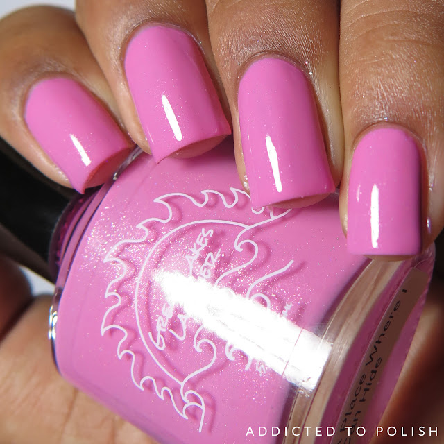 Great Lakes Lacquer A Place Where I Can Hide June Limited Editions 2016