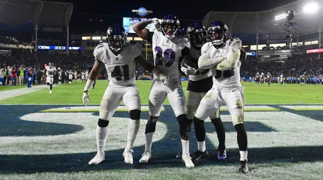 Ravens vs Chargers final results, Takeways: Baltimore Ravens Stays Alive In Playoff Race
