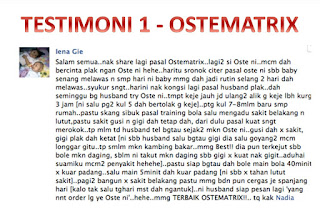 Terstimoni-ostematrix