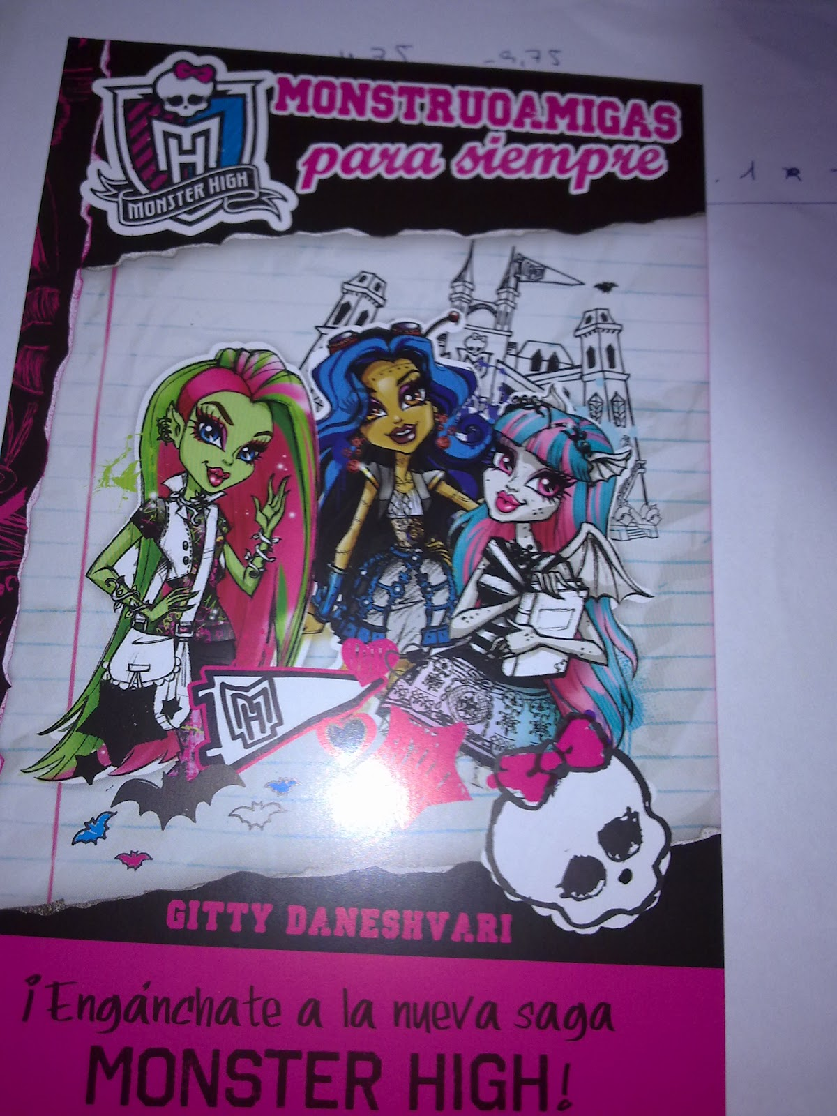 Monster High Libros Monster High La Nueva Saga De Libros De Monster High