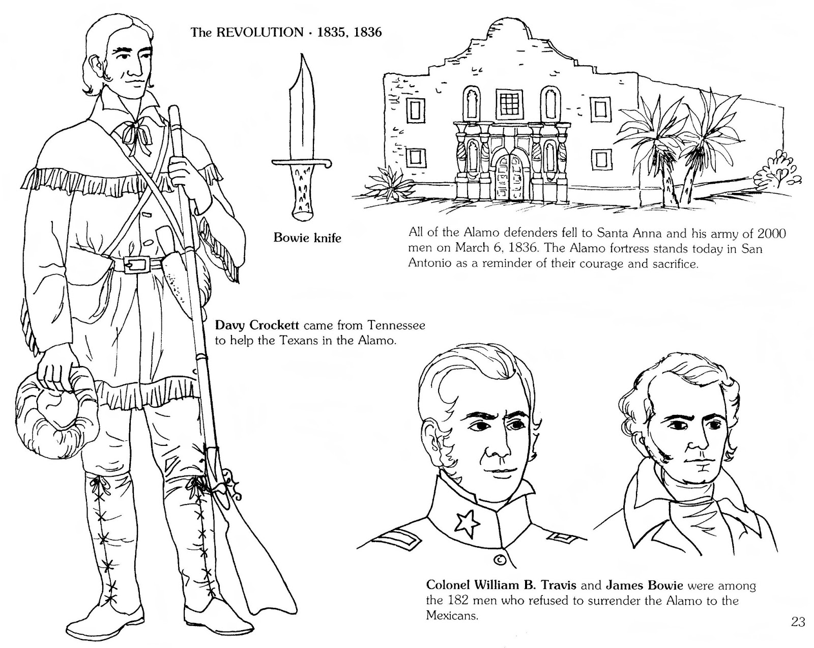 Mostly Paper Dolls Too!: Remember the ALAMO