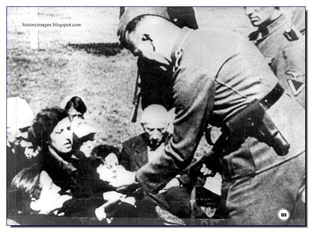 Einsatzgruppen officer Russian Jews women children Nazi exterminators