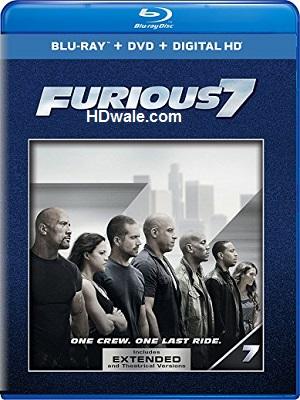 Furious 7 Full Movie Free Download (2015) 1080p & 720p BluRay