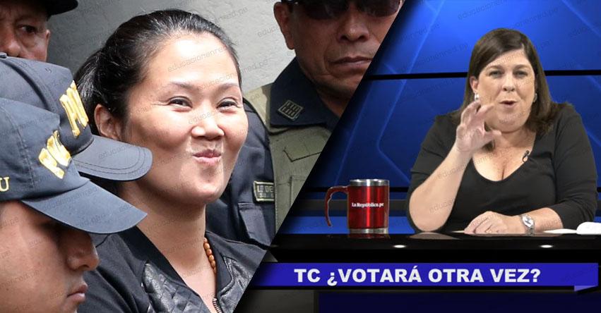 ¿El Tribunal Constitucional volverá a votar fallo que favoreció a Keiko Fujimori? [VIDEO] Rosa María Palacios