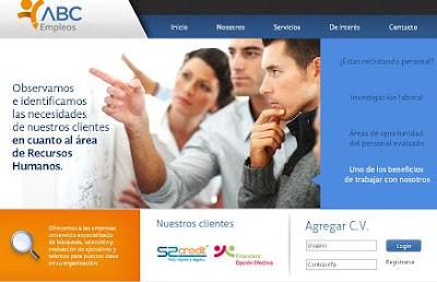 ABCEmpleos.com Solicita trabajo con tu curriculum en linea por internet