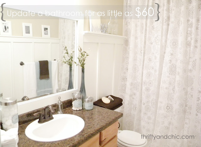 Diy Bathroom Ideas On A Budget: DIY Projects And Home Decor