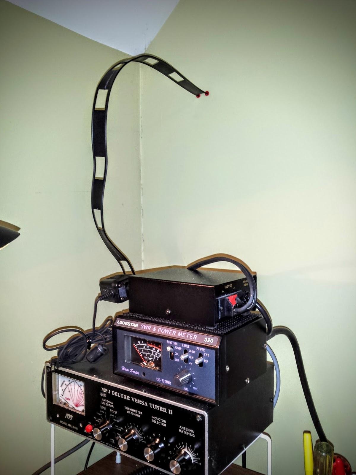 Ham Radio - QRP: The Attic antenna revisited