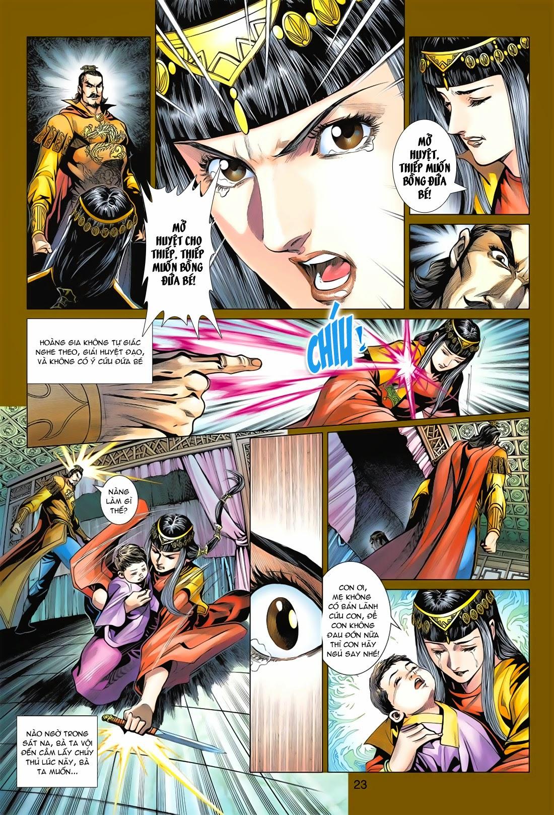 Anh Hùng Xạ Điêu anh hùng xạ đêu chap 78: sát anh trang 23