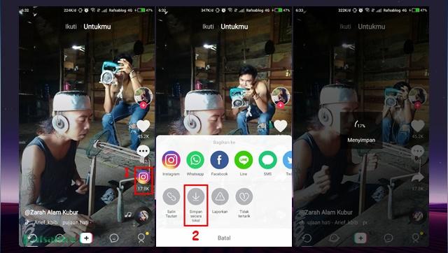Cara Menyimpan Video TikTok ke Galeri Telepon