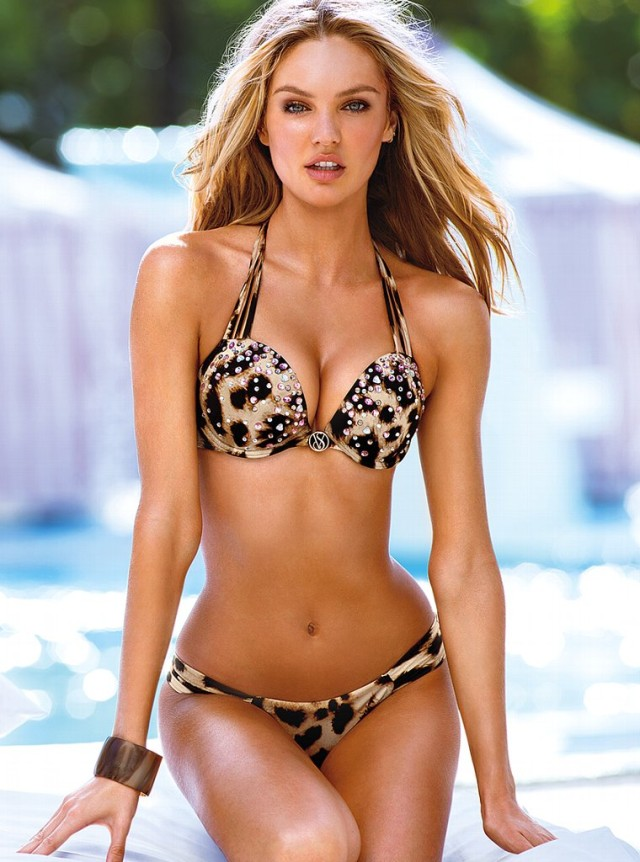 Victoria's Secret Swim Cover Model of 2013 - Candice ...
