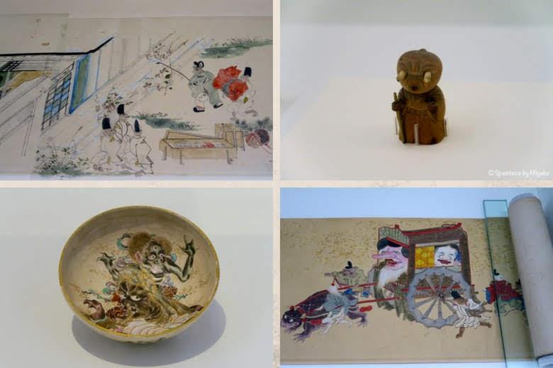 マドリードで鑑賞する日本の妖怪の絵画と焼き物《Yokai: Iconografía de lo fantástico》