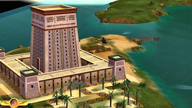 """""""Peisaj istoric"""" în jocul """"Children of the Nile"""" - blog FOTO-IDEEA"""