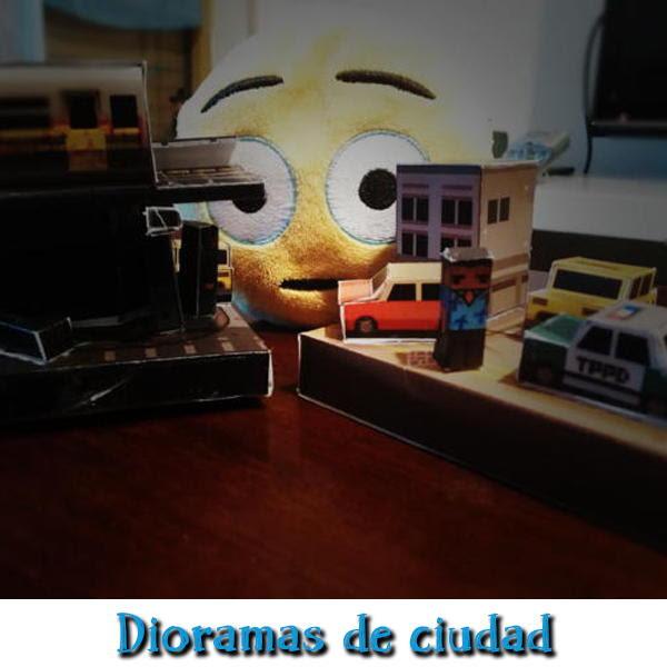 Dioramas de ciudades para descargar gratis