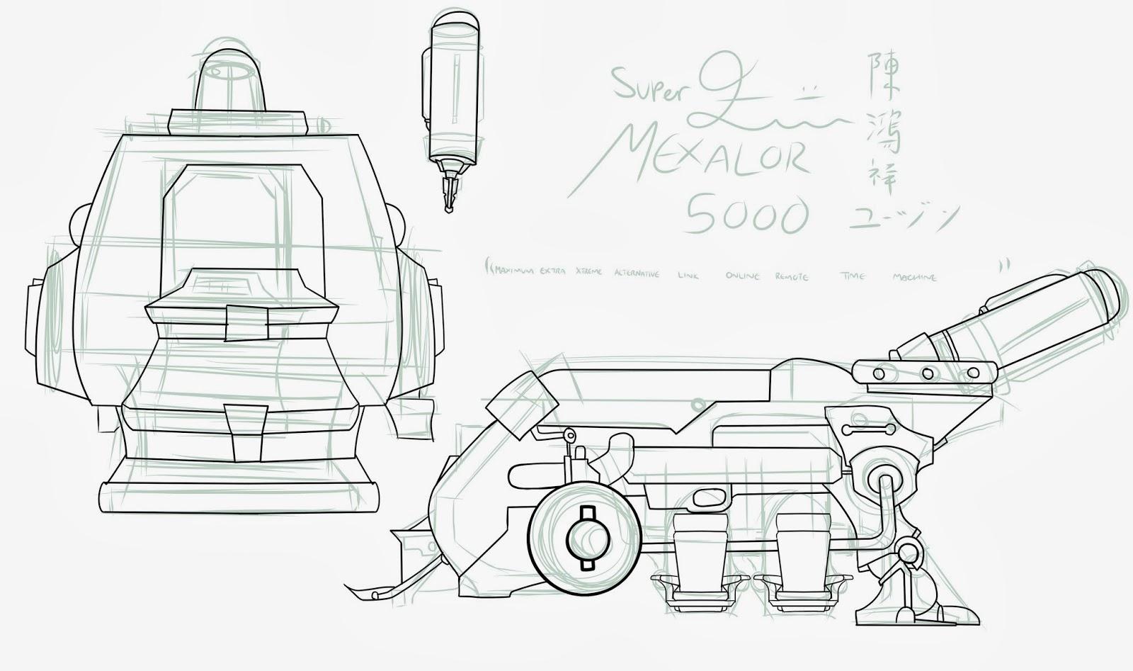 Super M E X A L O R The Time Machine