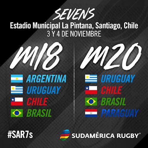 Fixture del Seven Sudamericano Juvenil M-18 y M-20