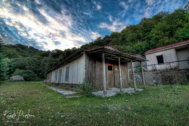 Στο εγκαταλελειμμένο δασικό εργοτάξιο Λεπίδα.