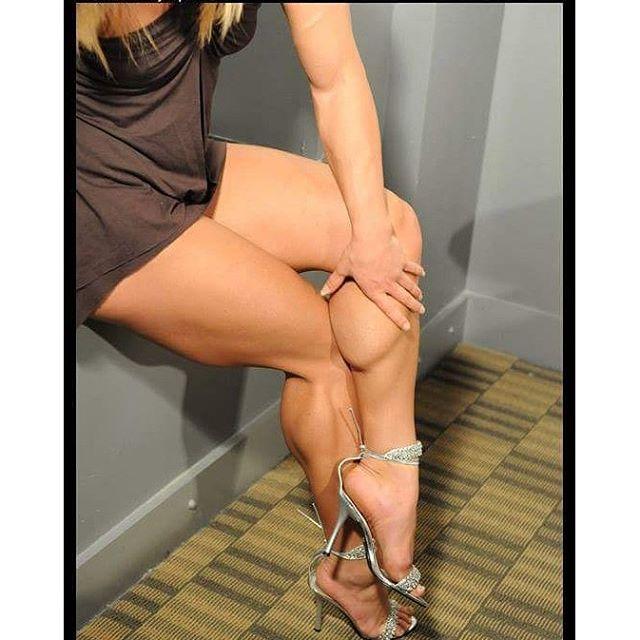 Katka Kyptova calves