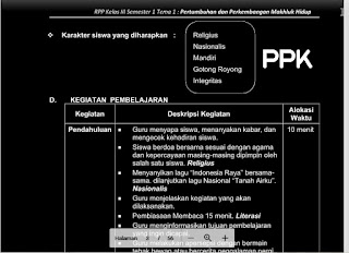 Geveducation: RPP Kelas 3 K13 Revisi 2018/2019