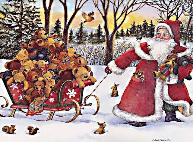 christmas santa cards