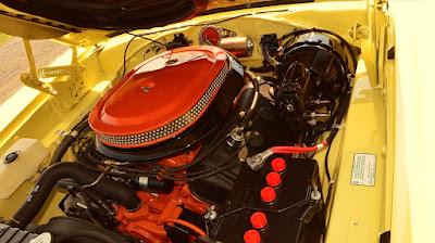 1969 Dodge Coronet Super Bee Hemi 426 cbi engine 02
