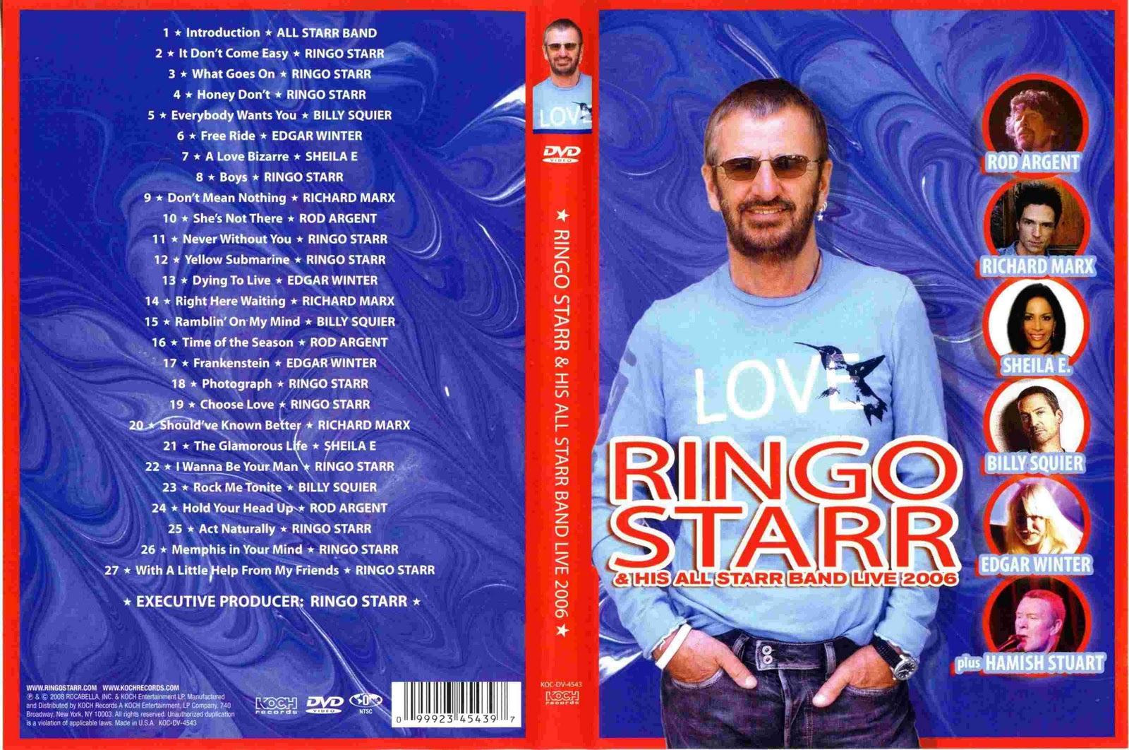 disco ringo starr and his all starr band live 2006 banda ringo starr