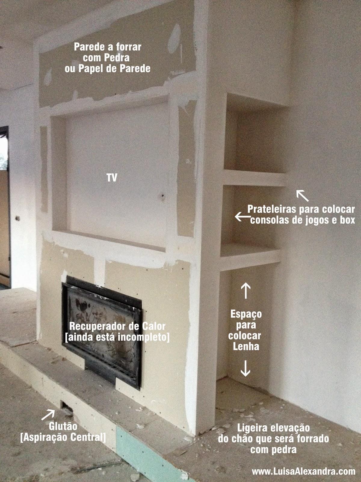 A nossa casa recuperador de calor m vel em pladur - Paredes de pladur o ladrillo ...