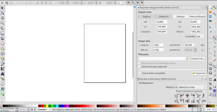 editar e criar imagens vetoriais com o inkscape para linux ubuntu e windows