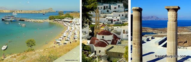 Lindos - Ilha de Rodes - Grécia