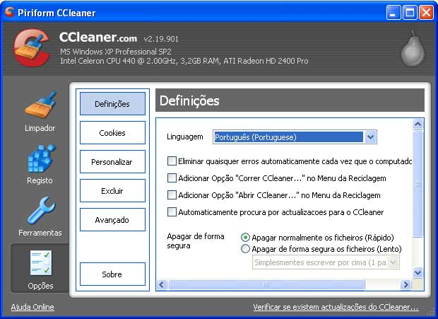demo of ccleaner image