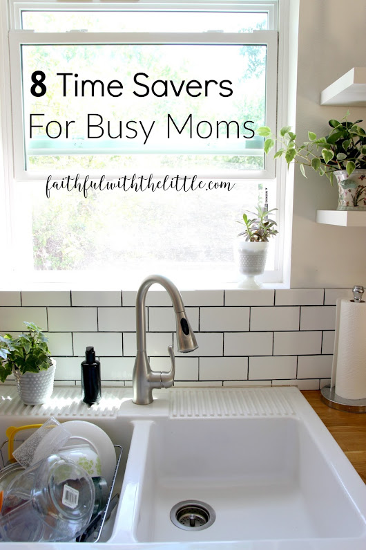 8 Time Savers for Busy Mom's + Instant Pot Mother's Day Giveaway