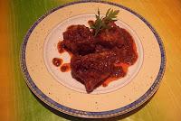 Tacos de Rape en salsa roja y cava
