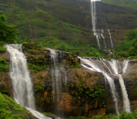 Dhoodhani Waterfall Rappelling with Backpack Holidays   Dhoodhani