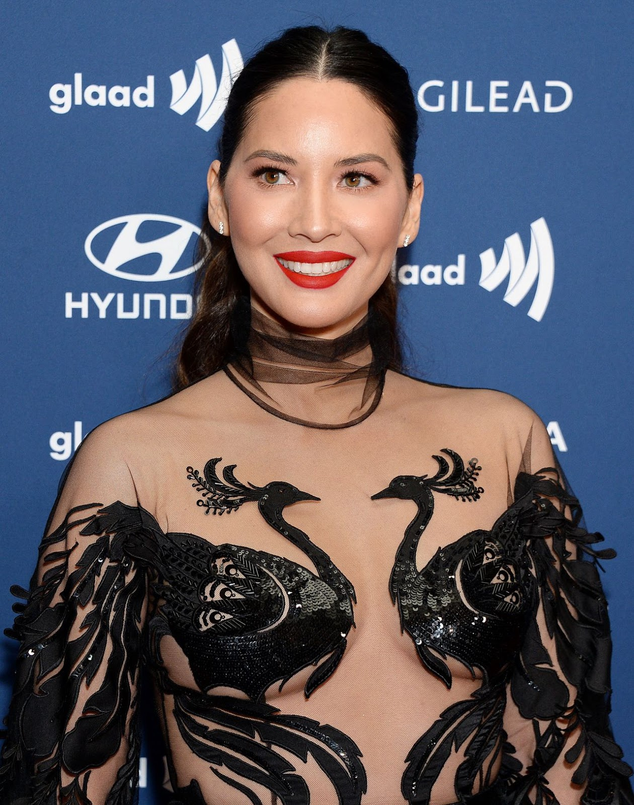 Olivia Munn – 30th Annual GLAAD Media Awards Los Angeles at The Beverly Hilton Hotel in Beverly Hills