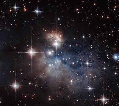 Hubble and a stellar fingerprint