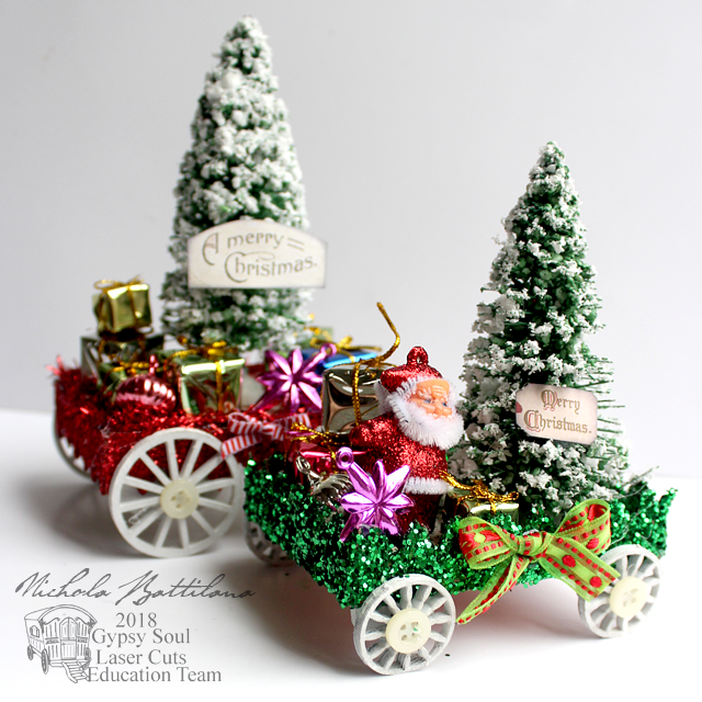 Little Christmas Floats - Nichola Battilana for gslcuts.com