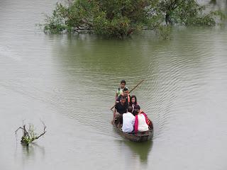 Visitors in Ratargul