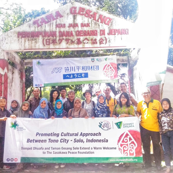 Dompet Dhuafa Bersinergi dengan Sasakawa Peace Foundation Untuk Kelangsungan Taman Gesang di Solo Zoo