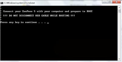 Cara root asus zenfone 5-android kitkat 4.4.2 menggunakan PC