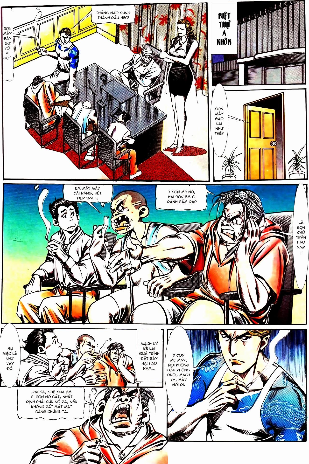 Người Trong Giang Hồ chapter 112: nhân sinh trang 11